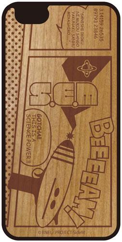 アイドルマスター SideM iPhoneウッドケース S.E.M iPhone6 Plus/6s Plus[amie]《発売済・在庫品》