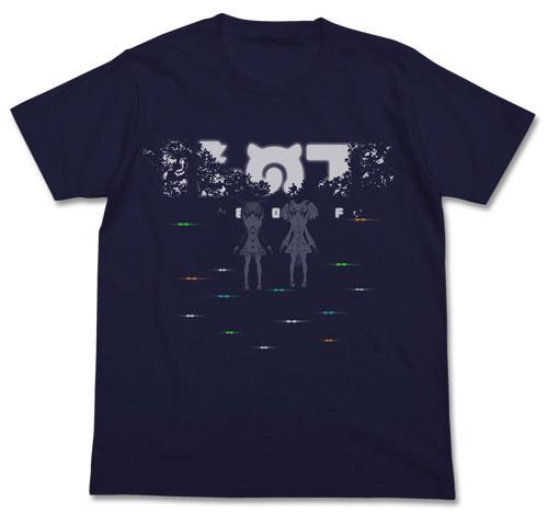 けものフレンズ 2547-1214 けものフレンズ 12話Tシャツ/NAVY-L(再販)[コスパ]《01月予約》