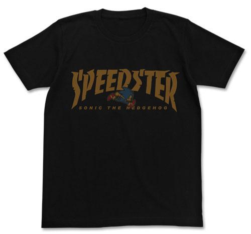 ソニック・ザ・ヘッジホッグ SPEEDSTERソニックTシャツ/BLACK-S(再販)[コスパ]《03月予約》