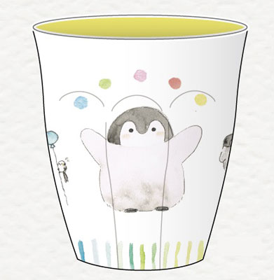 コウペンちゃん メラミンカップ