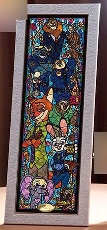 ジグソーパズル ディズニー ズートピア ステンドグラス〈ステンドアート〉 456ピース(DSG-456-733)[テンヨー]《11月予約※暫定》