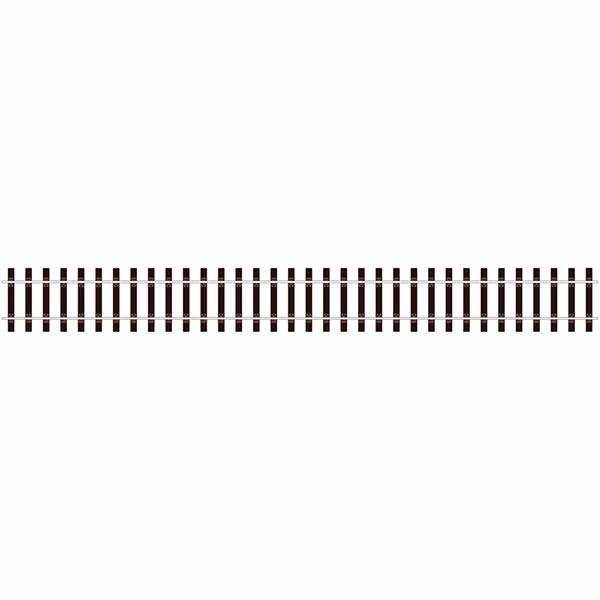 PESL-700BH Oゲージ フレキシブル線路・木枕木 ブルヘッド#124(SL700BH)[PECO]《在庫切れ》