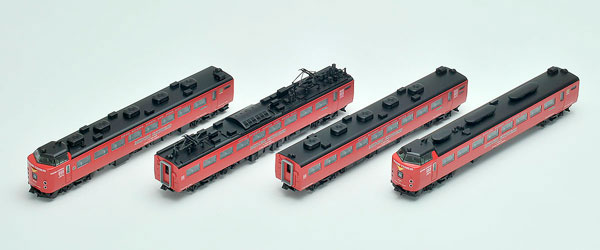 98251 JR 485系特急電車(MIDORI EXPRESS)セットB(4両)[TOMIX]【送料無料】《発売済・在庫品》