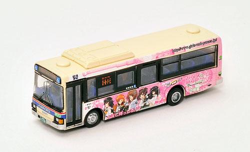 ザ・バスコレクション 茨城交通 ガールズ&パンツァーバス2号車[トミーテック]《12月予約》