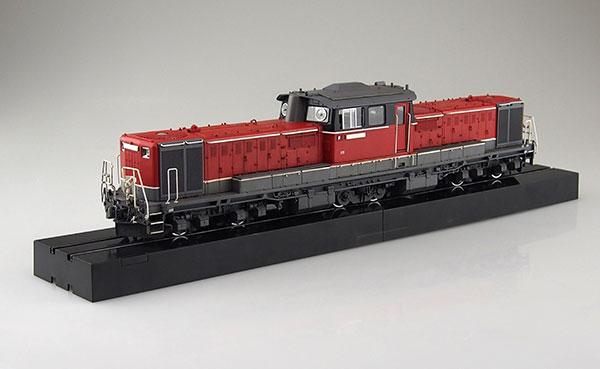 1/45 トレインミュージアムOJ No.3 ディーゼル機関車 DD51 更新色 スーパーディティール プラモデル[アオシマ]《取り寄せ※暫定》