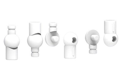 Frame Arms Girl Wrist Joint White Ver. Plastic Model(Pre-order)フレームアームズ・ガール リストジョイント ホワイトVer. プラモデルAccessory