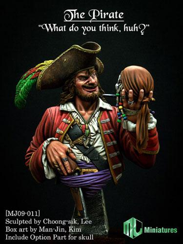 """1/9 海賊""""言いたいことあるか?""""[MJ Miniatures]《在庫切れ》"""