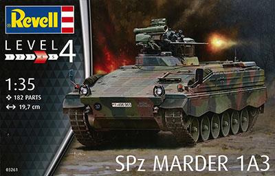 1/35 SPz マーダー1 A3 プラモデル[ドイツレベル]《発売済・在庫品》