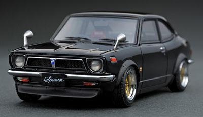 1/43 トヨタ スプリンター トレノ (TE27) Black[イグニッションモデル]《発売済・在庫品》