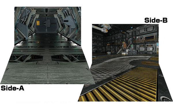 ジオラマシートEX-HG 宇宙船セットA[箱庭技研]《発売済・在庫品》