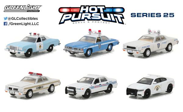 1/64 Hot Pursuit - SERIES25 6個入りアソート[グリーンライト]《発売済・在庫品》