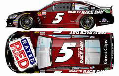 1/64 NASCAR Cup Series 2017 シボレー SS RATED RED #5 Kasey Kahne[Lionel Racing]《在庫切れ》