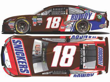 1/64 NASCAR Cup Series 2017 トヨタ カムリ SNICKERS #18[Lionel Racing]《12月仮予約》