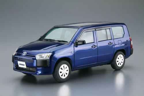 ザ・モデルカー SP 1/24 トヨタ NCP160V サクシード'14 プラモデル[アオシマ]《発売済・在庫品》