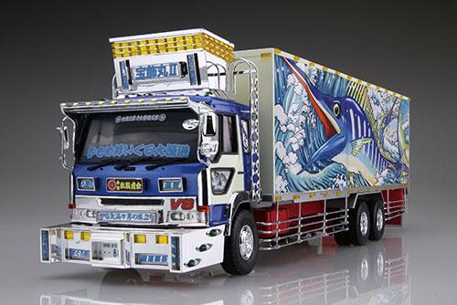 1/32 バリューデコトラ No.50 二代目 宝飾丸(大型冷凍車) プラモデル[アオシマ]《発売済・在庫品》