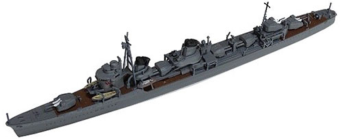 1/700 特型駆逐艦II型「天霧」プラモデル[ヤマシタホビー]《発売済・在庫品》