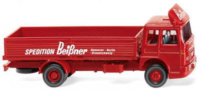 1/87 MAN スワップボディトラック Sped. Beissner[WIKING]《在庫切れ》