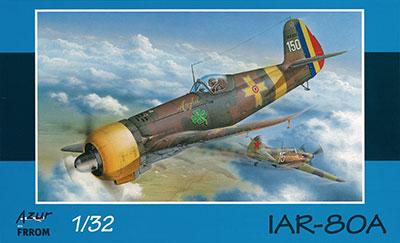 1/32 IAR-80A 「後期型」 プラモデル[アズール]《01月予約》