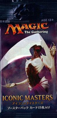 マジック:ザ・ギャザリング 日本語版 アイコニックマスターズ ブースター パック[Wizards of the Coast]《発売済・在庫品》