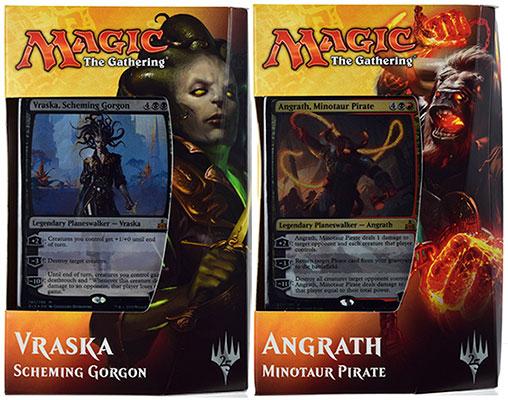 マジック:ザ・ギャザリング 英語版 イクサランの相克 プレインズウォーカーデッキ 2種セット[Wizards of the Coast]【送料無料】《発売済・在庫品》