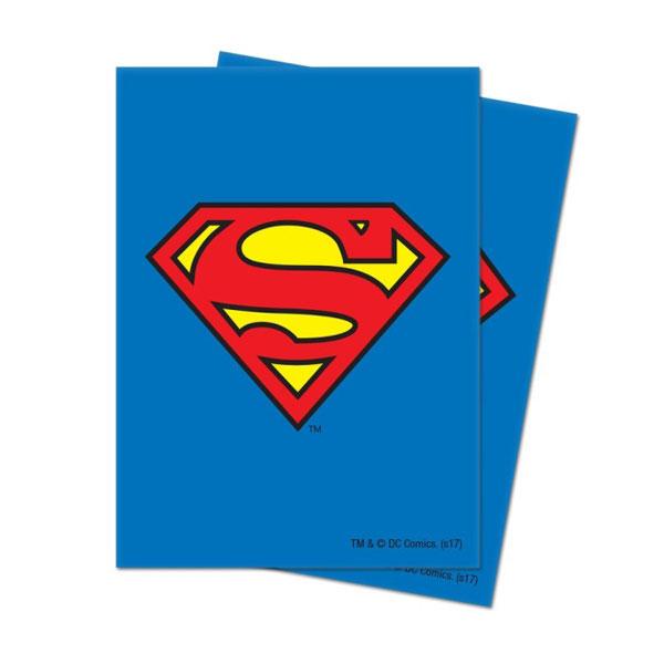 通常カード用デッキプロテクター ジャスティス・リーグ/スーパーマン パック
