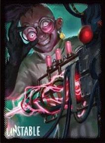 マジック:ザ・ギャザリング プレイヤーズカードスリーブ 『アンステイブル』 ≪飛び切りの殺人光線≫ (MTGS-022) パック[エンスカイ]《02月予約》