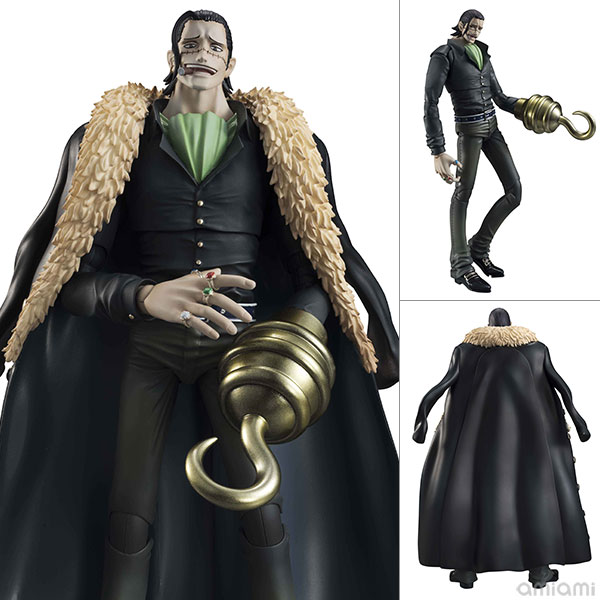 Variable Action Heroes - ONE PIECE: Crocodile Action Figure(Pre-order)ヴァリアブルアクションヒーローズ ONE PIECE クロコダイル アクションフィギュアScale Figure