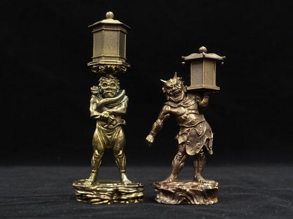 「運慶の継承」- 康弁作 天燈鬼・龍燈鬼立像 - 完成品フィギュア[海洋堂]《11月予約》
