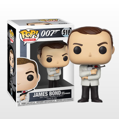 ポップ! 『007』「ゴールドフィンガー」ジェームズ・ボンド[ファンコ]《発売済・在庫品》