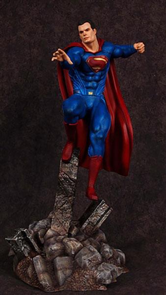 バットマンvsスーパーマン・ジャスティスの誕生 1/8 スーパーマン フィギュアキット[メビウスモデル]《在庫切れ》