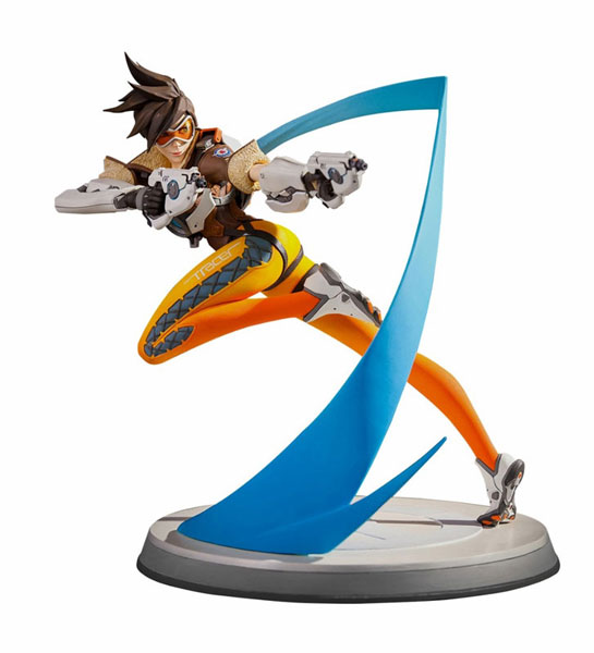 Overwatch - Tracer Lena Oxton 12 Inch Statue(Provisional Pre-order)オーバーウォッチ/ トレーサー レナ・オクストン 12インチ スタチューScale Figure
