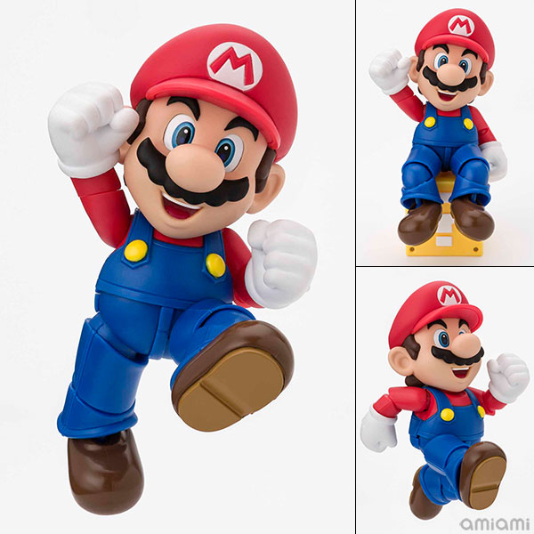 S.H. Figuarts - Mario (New Package Ver.)