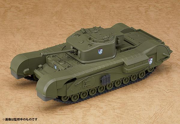 ねんどろいどもあ ガールズ&パンツァー 最終章 チャーチル歩兵戦車 Mk.VII[グッドスマイルカンパニー]《07月予約》