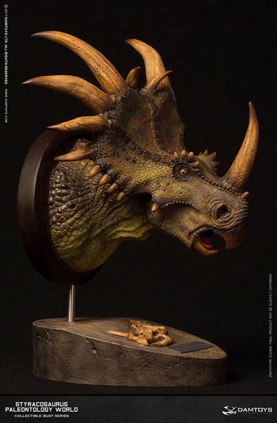 ミュージアムシリーズ スティラコサウルス バストA グリーン[DAMTOYS]《07月仮予約》