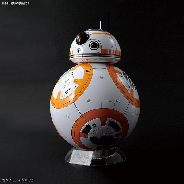 スター・ウォーズ 1/2 BB-8 (グロスフィニッシュ) プラモデル[バンダイ]《発売済・在庫品》