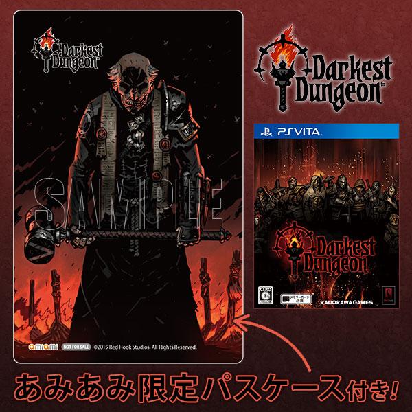 【あみあみ限定特典】PS Vita Darkest Dungeon[角川ゲームス]《02月予約》