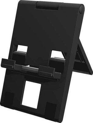 コンパクトスタンド ブラック (Switch用)[サイバーガジェット]《発売済・在庫品》