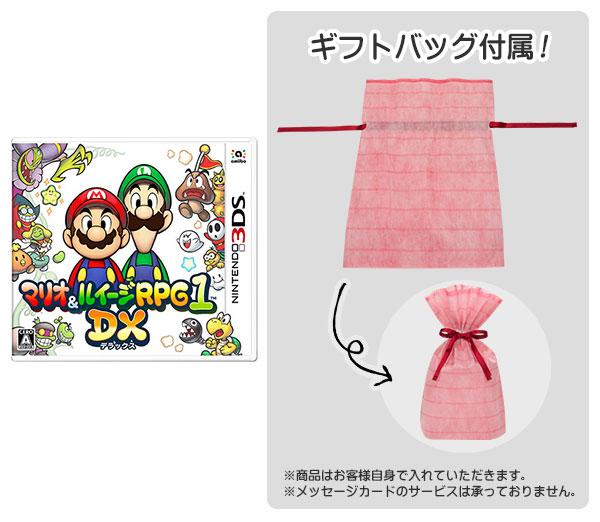 【ギフトバッグ付】 3DS マリオ&ルイージRPG1 DX