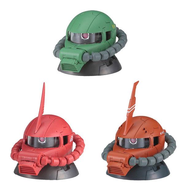 機動戦士ガンダムEXCEED MODEL ZAKU HEAD 3 9個入りBOX[バンダイ]《12月予約》