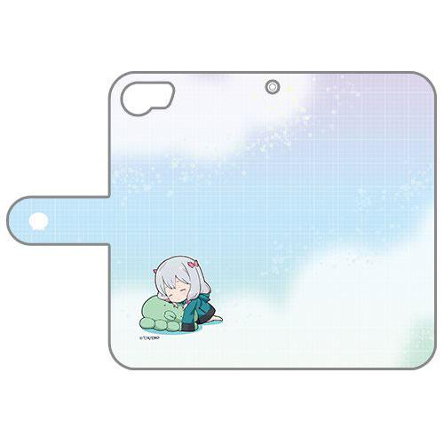 エロマンガ先生 手帳型スマホケース(紗霧/うたた寝)iPhone6&7用[カーテン魂]《12月予約》