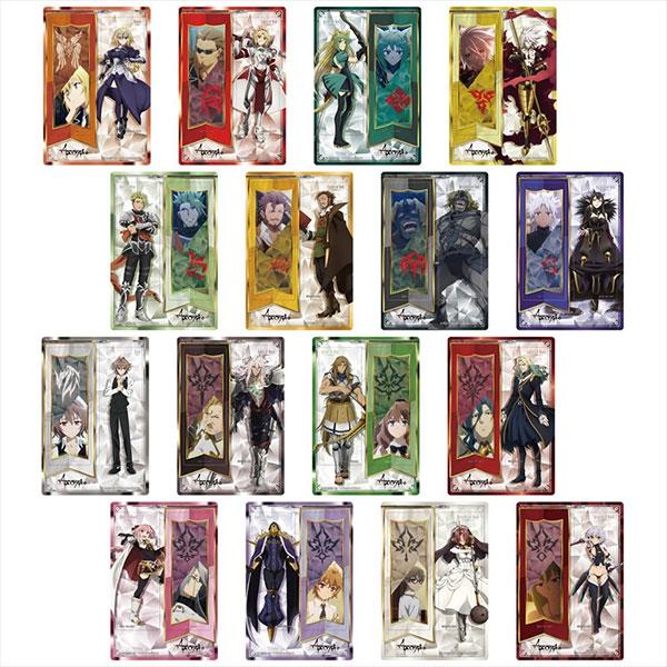 Fate/Apocrypha トレーディングクリアしおり 16個入りBOX[Gift]《12月予約》