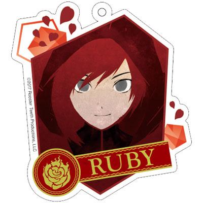 アニメ「RWBY」アクリルキーホルダー (1) ルビー アニメ・キャラクターグッズ新作情報・予約開始速報