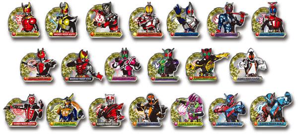仮面ライダー ピンズコレクション 12個入りBOX[プレックス]《在庫切れ》