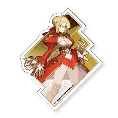 Fate/EXTELLA ダイカットステッカー (ネロ・クラウディウス)[アクアマリン]《12月予約》