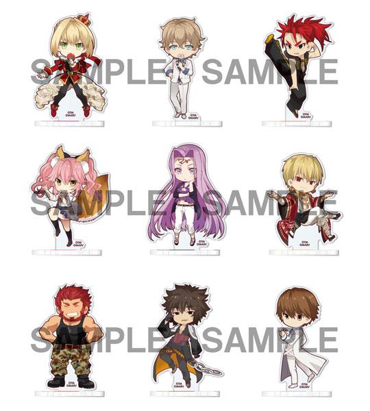 Fate/EXTELLA アクリルスタンドコレクション 第1弾 9個入りBOX[ソル・インターナショナル]《01月予約》