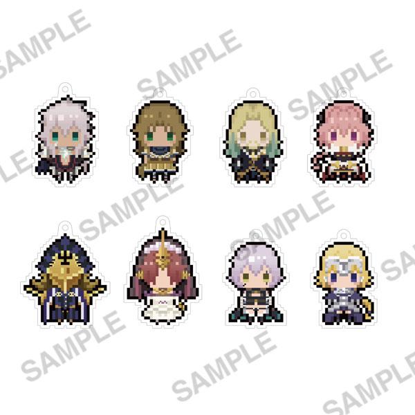 Fate/Apocrypha ぷちびっとストラップコレクション ver.black 8個入りBOX[KADOKAWA]《02月予約》