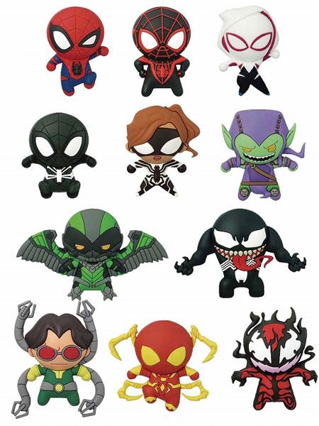 マーベル/ レーザーカット フィギュラル・キーリング スパイダーマン クラシックス:24個入りBOX[Monogram]【送料無料】《02月仮予約》