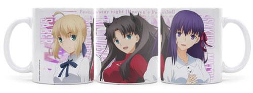 Fate/stay night [Heaven's Feel] 桜&セイバー&凛フルカラーマグカップ[コスパ]《発売済・在庫品》