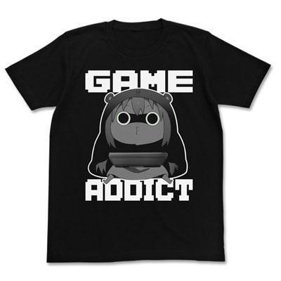 干物妹!うまるちゃんR ゲーム中毒うまるTシャツ/BLACK-L(再販)[コスパ]《04月予約》
