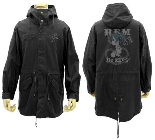 Re:ゼロから始める異世界生活 レム M-51ジャケット/BLACK-XL[コスパ]【送料無料】《発売済・在庫品》
